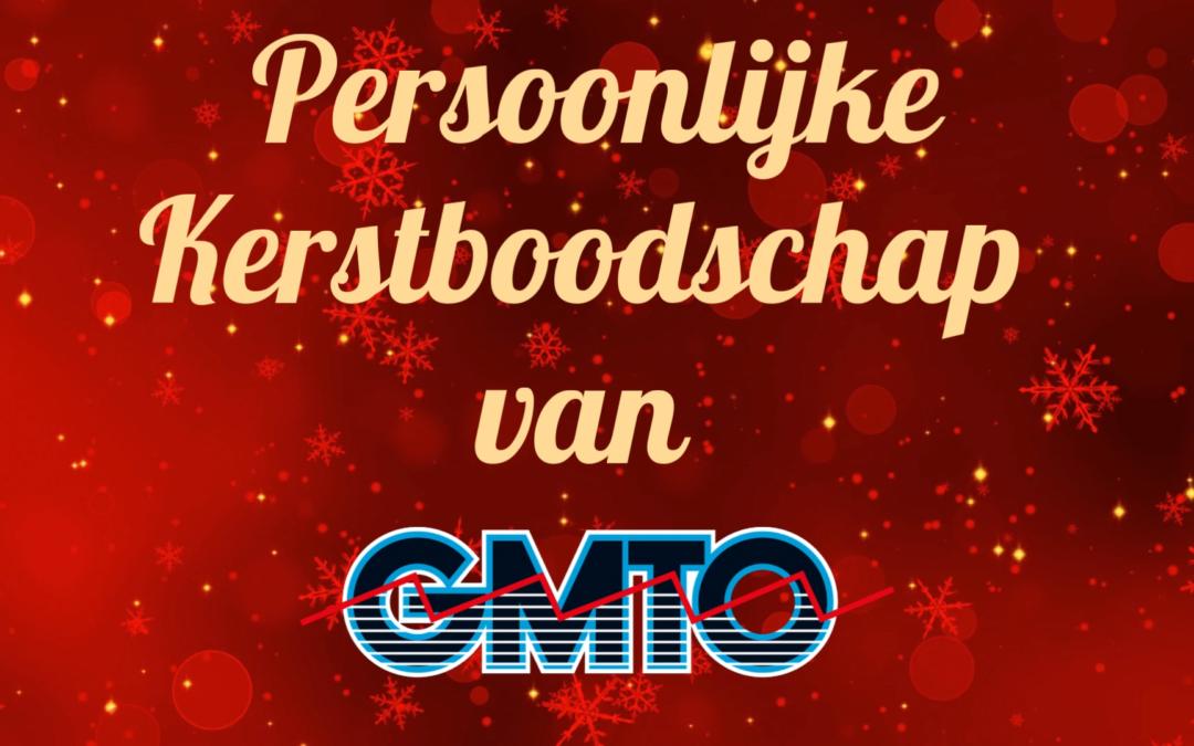 Persoonlijke kerstboodschap van GMTO